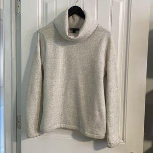 J. Crew Mercantile Cowl-Neck Sweater